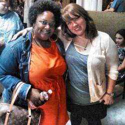with Lauren Zuniga