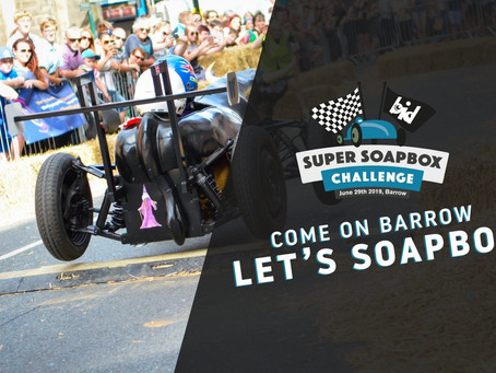 Everything you need to know about today's soap Box Challenge in Barrow