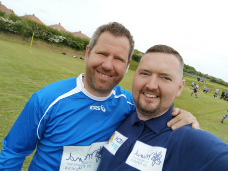 1800 strong Barrovian crowd turn out to support Mental Health awareness charity match!