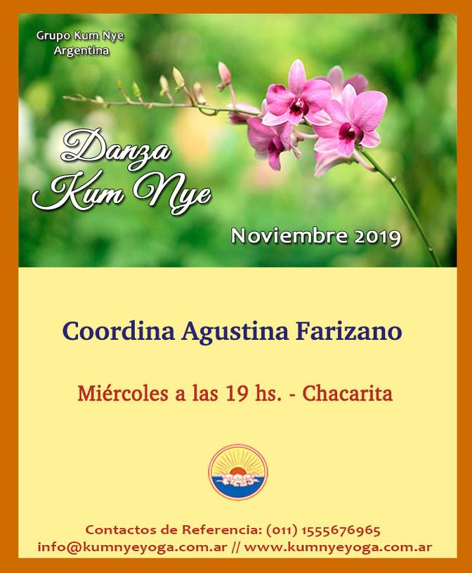 Danza Kum Nye en Chacarita - Noviembre 2019