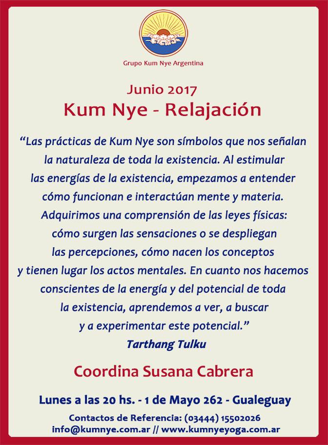 Kum Nye - Relajación en Gualeguay • Junio 2017