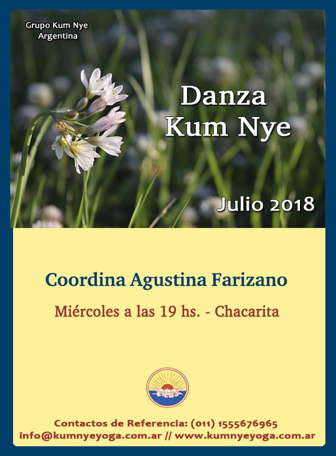 Danza Kum Nye en Chacarita  • Julio 2018