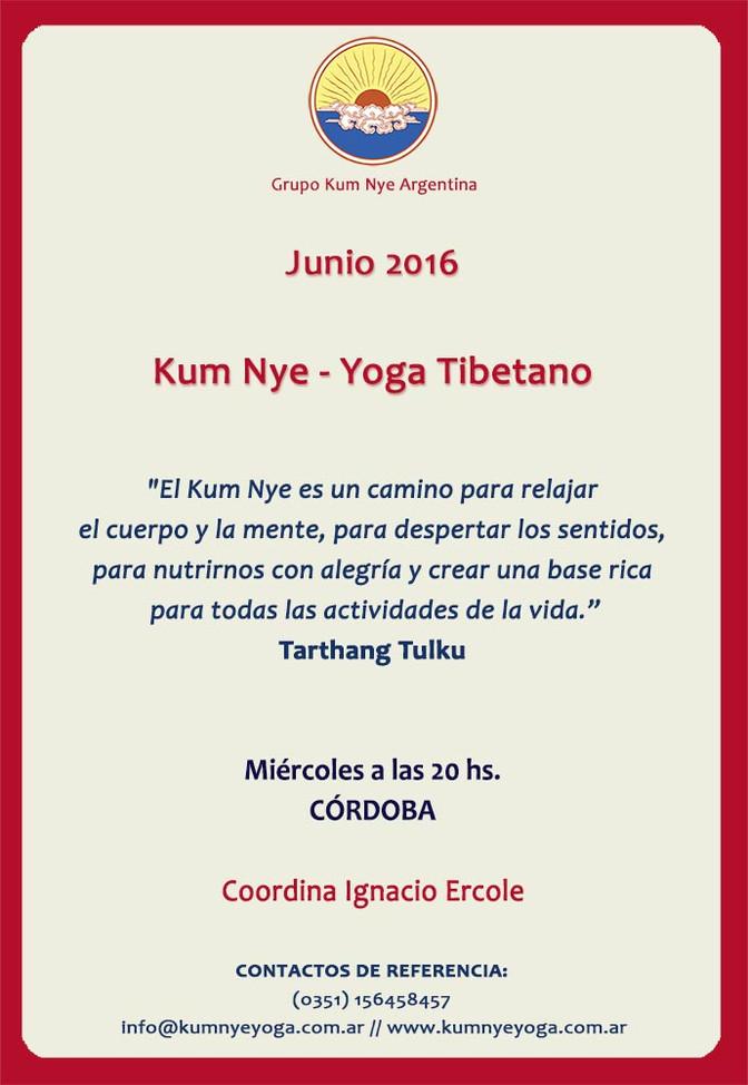 Kum Nye - Yoga Tibetano en Córdoba • Junio 2016