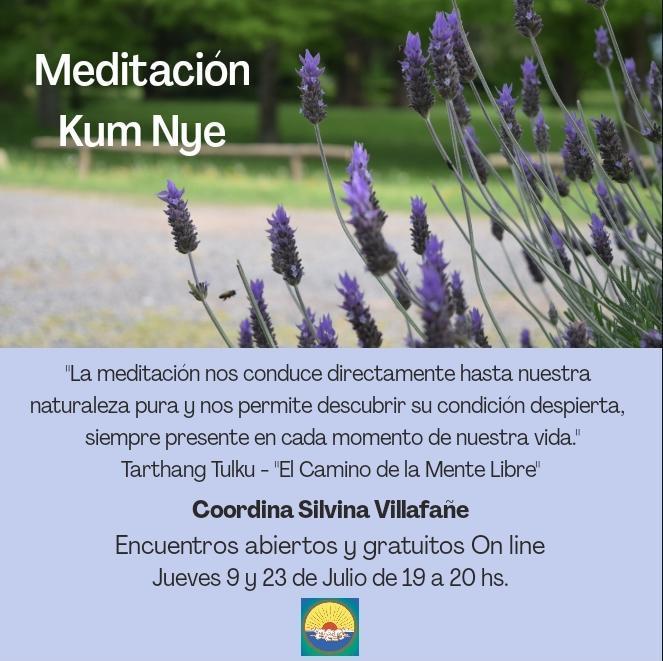 Meditación Kum Nye On line