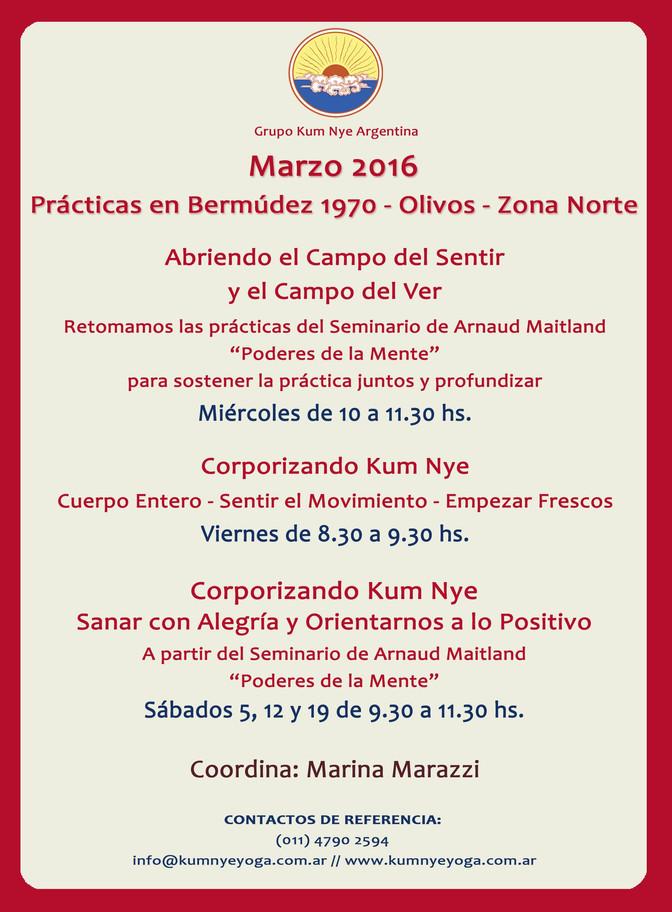 Prácticas en Olivos • Marzo 2016
