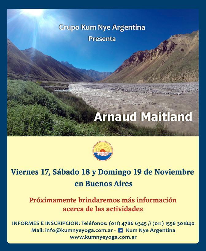 Arnaud Maitland en Buenos Aires • Noviembre 2017