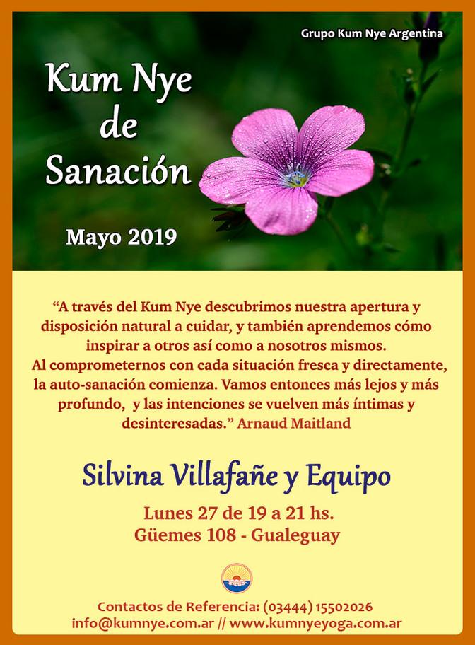 Kum Nye de Sanación en Gualeguay - Mayo 2019
