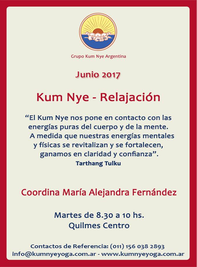 Kum Nye - Relajación en Quilmes Centro • Junio 2017