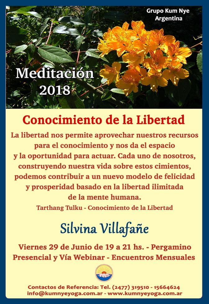 """""""Conocimiento de la Libertad"""" - Meditación en Pergamino • Junio 2018"""