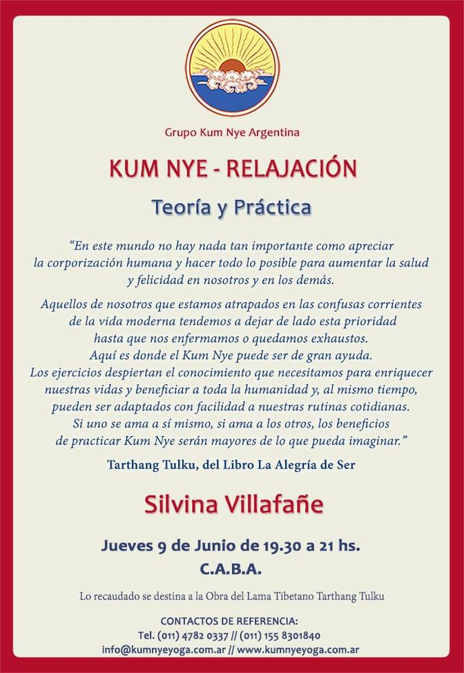 Kum Nye Relajación - Teoría y Práctica • Junio 2016