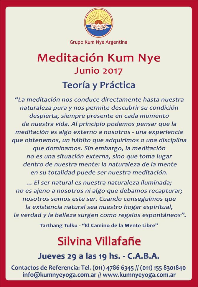 Meditación Kum Nye - C.A.B.A. • Junio 2017