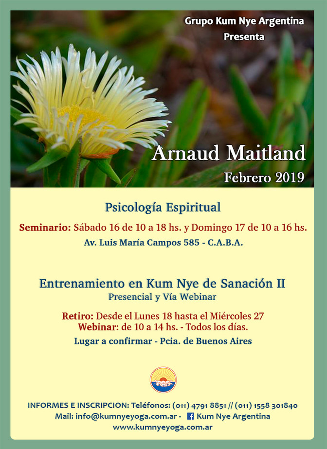 Arnaud Maitland - Febrero 2019 en Argentina