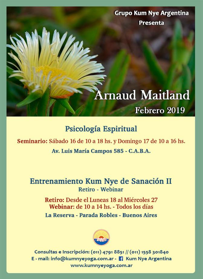 Arnaud Maitland en Argentina - Febrero 2019