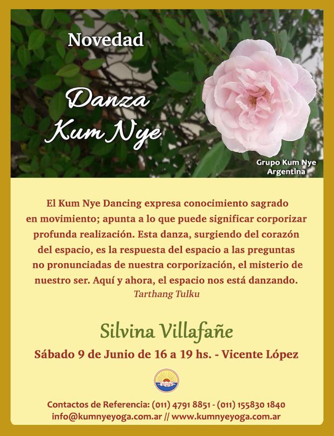 Danza Kum Nye en Vicente López • Junio 2018