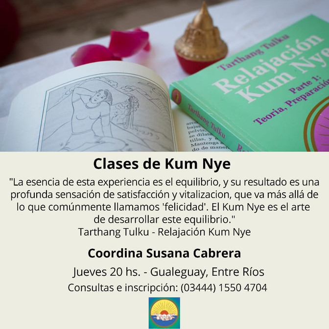 Clases de Kum Nye - Gualeguay, Entre Ríos