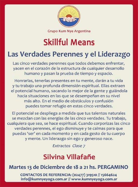 Skillful Means - Pergamino • Diciembre 2016