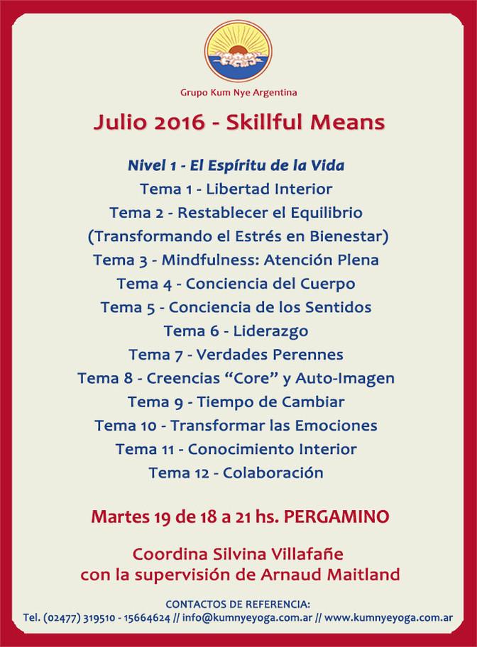 Skillful Means en Pergamino • Julio 2016
