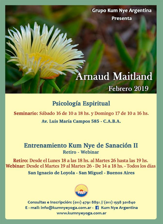 Arnaud Maitland en Argentina - Febrero de 2019