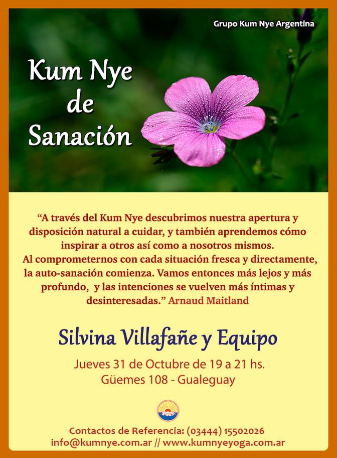 Kum Nye de Sanación - Gualeguay - Octubre 2019