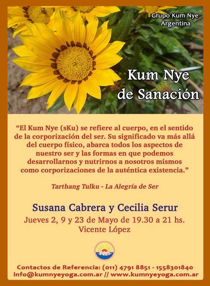 Kum Nye de Sanación - Vicente López - Mayo 2019