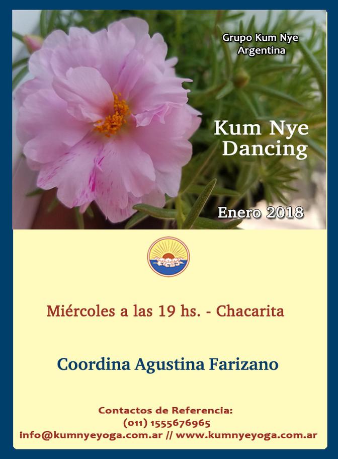 Kum Nye Dancing en Chacarita • Enero 2018