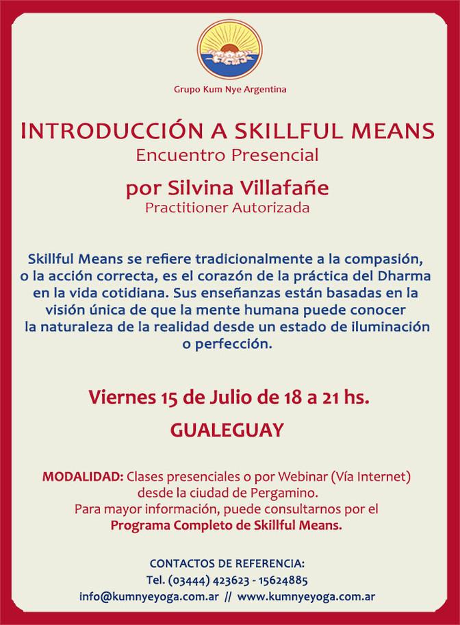 Introducción al Skillful Means - Encuentro Presencial en Gualeguay • Julio 2016