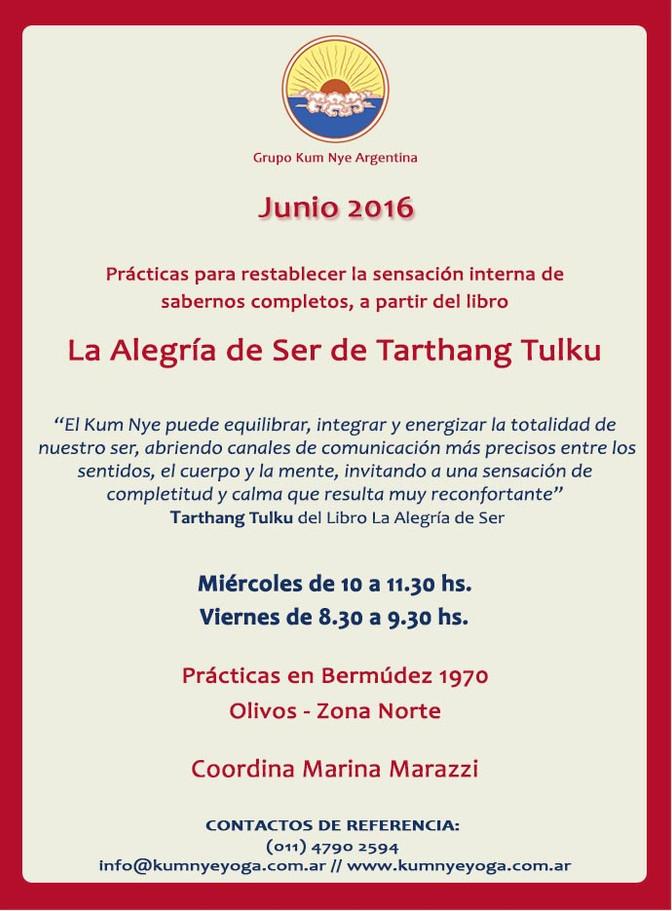 La Alegría de Ser de Tarthang Tulku • Junio 2016