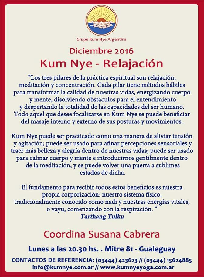 Kum Nye - Relajación en Gualeguay