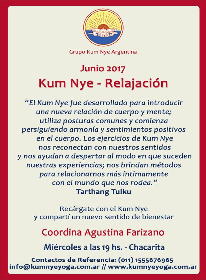Kum Nye - Relajación en Chacarita • Junio 2017