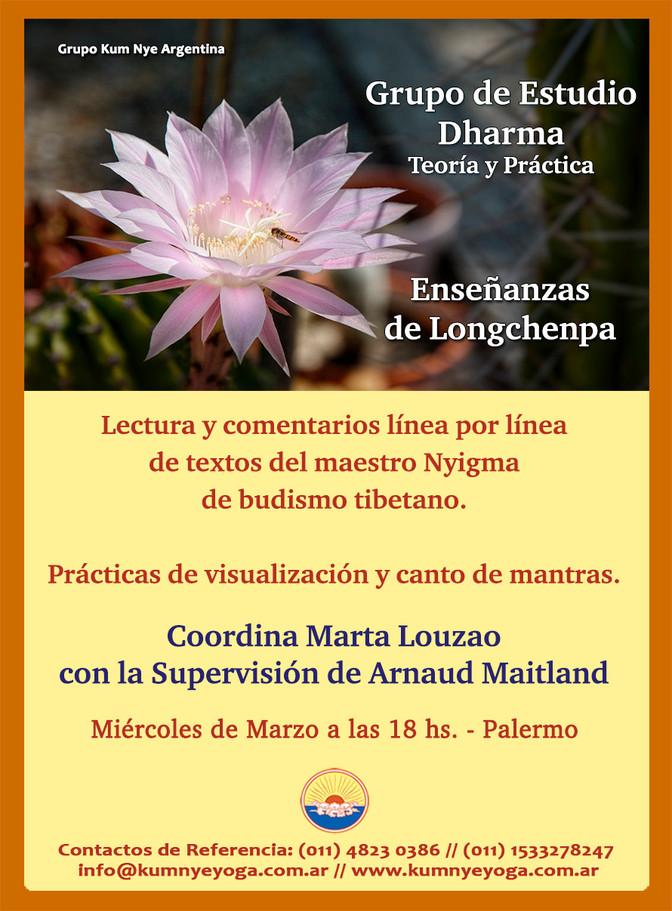 Grupo de Estudio Dharma - Enseñanzas de Lonchenpa- Marzo de 2019 en Palermo