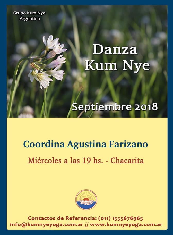 Danza Kum Nye en Chacarita • Septiembre 2018