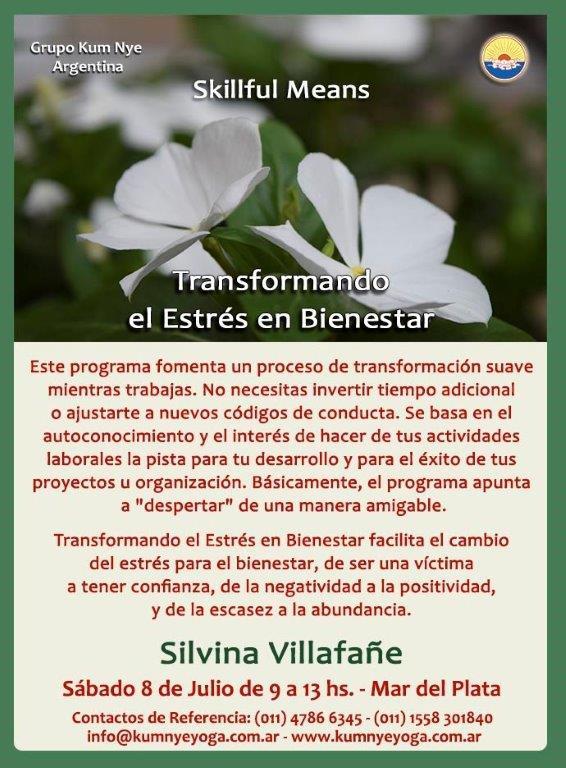 Skillful Means - Transformando el Estrés en Bienestar en Mar del Plata • Julio 2017