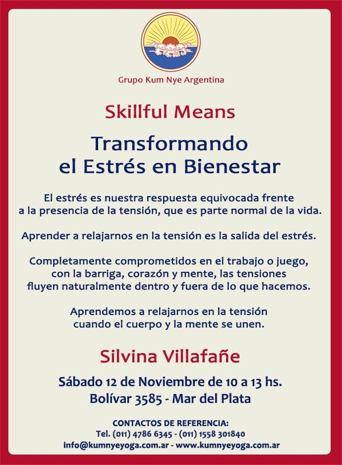 Skillful Means - Transformando el Estrés en Bienestar - Mar del Plata • Noviembre 2016