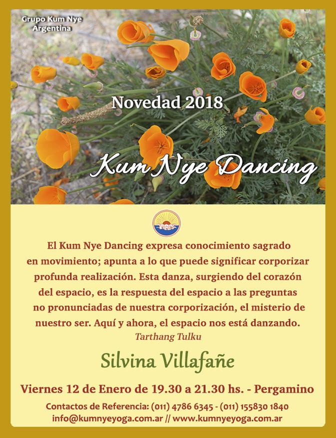 Kum Nye Dancing en Pergamino • Enero 2018