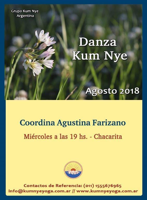 Danza Kum Nye en Chacarita • Agosto 2018
