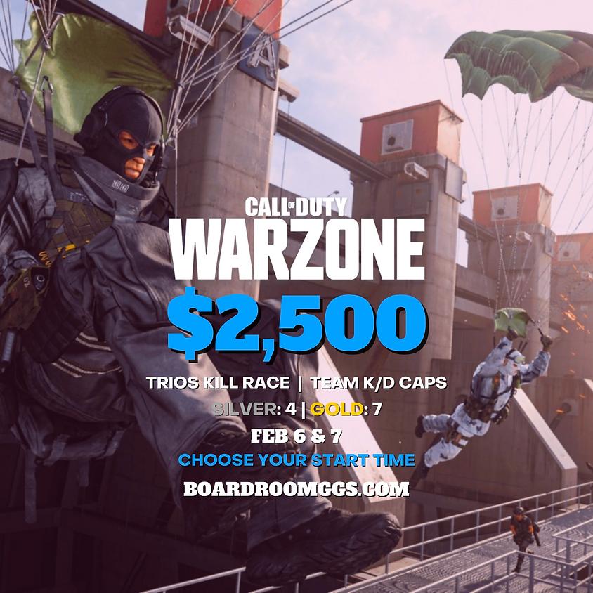$2,500 WARZONE TRIOS