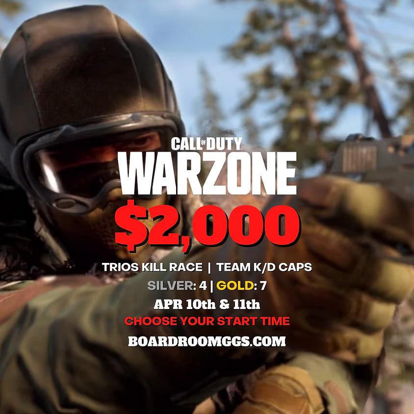 $2,000 WARZONE TRIOS