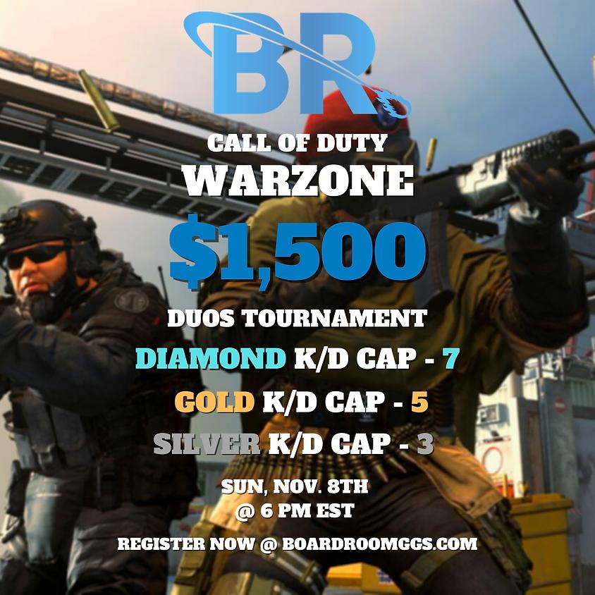 $1,500 Duos Kill Race Tournament