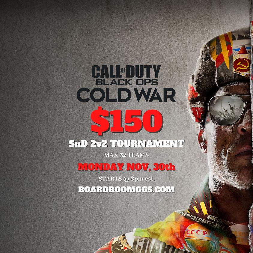 $150 GTD Cold War 2v2 Search & Destroy Bo3 Tournament