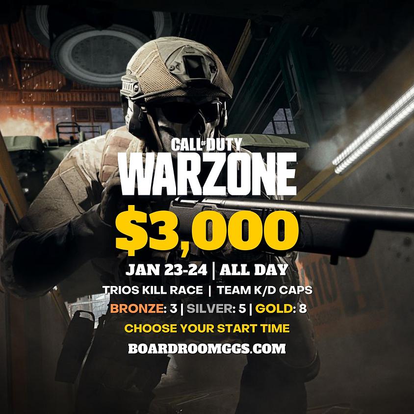 $3,000 WARZONE TRIOS