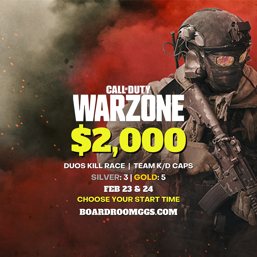 $2,000 WARZONE DUOS