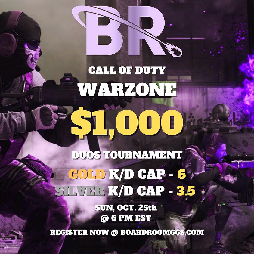 $1,000 Duos Kill Race Tournament