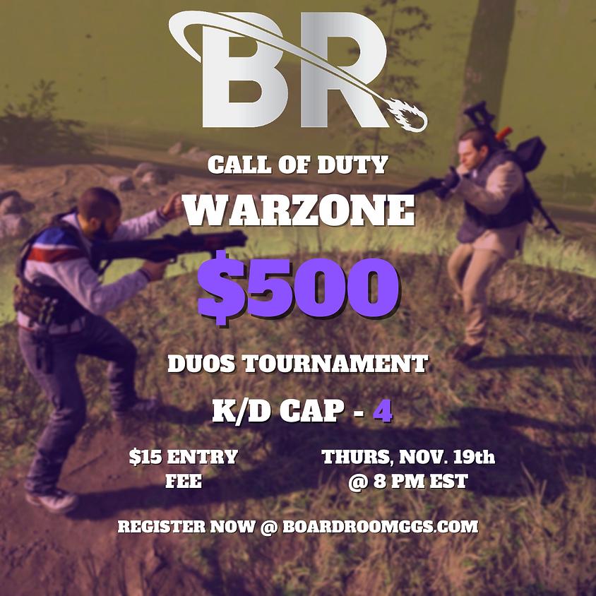 $500 Duos Kill Race Tournament