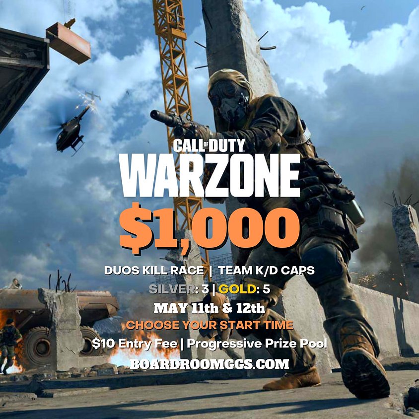 $1,000 WARZONE DUOS