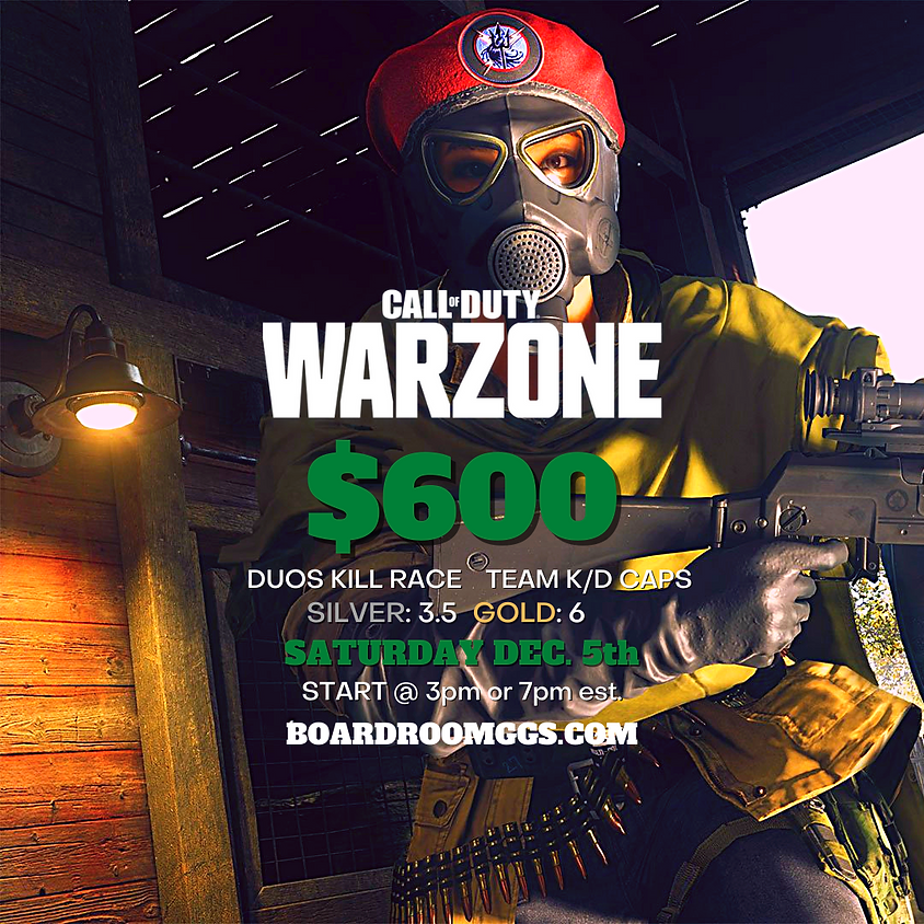 $600 Duos Kill Race Tournament