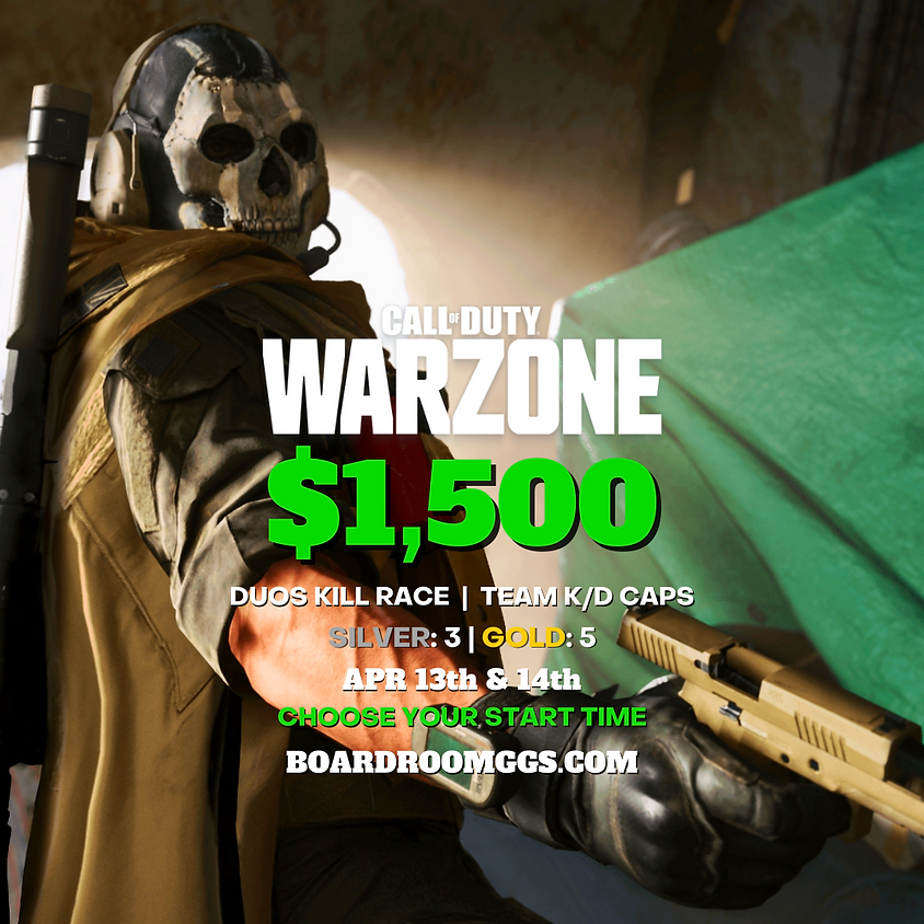 $1,500 WARZONE DUOS