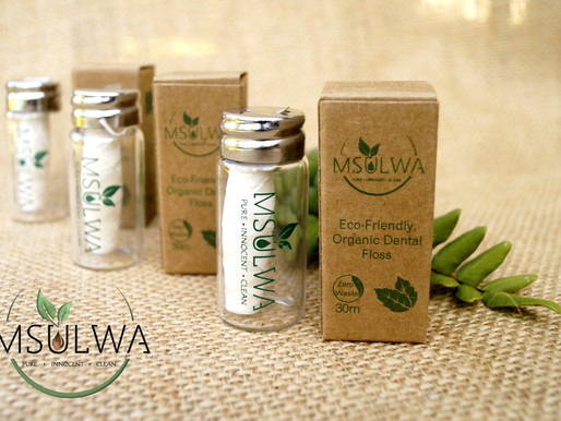 Msulwa Life, Unique Eco-Friendly and Natural Products, that Helps Minimise Single-Use Plastics