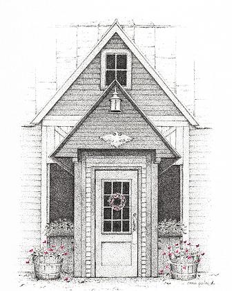 Longfellows Inn Print