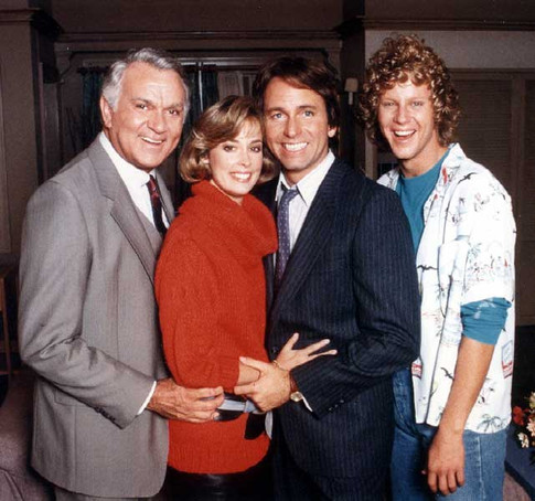 """""""Three's A Crowd"""" with Robert Mandan, Mary Cadorette and John Ritter"""