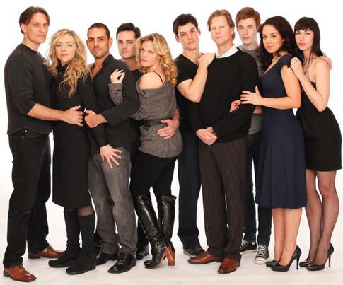 "Cast of ""Hello Again"""